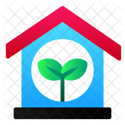 Green House Icon Of Flat Style Available In Svg Png Eps Ai Icon Fonts