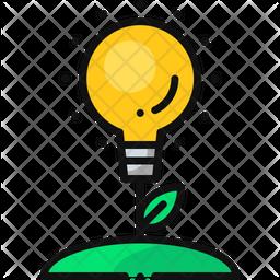 Green Lamp Icon
