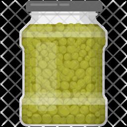 Green Pea Icon