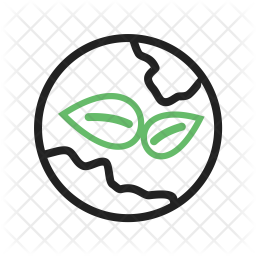 Green world Line Icon