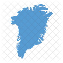 Greenland Map Icon