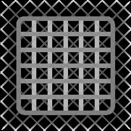 Grid Flat Icon