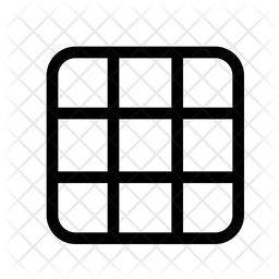 Grid Line Icon