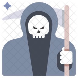 Grim Reaper Icon Of Flat Style Available In Svg Png Eps Ai Icon Fonts