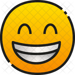 Grinning Face With Smiling Eyes Emoji Icon