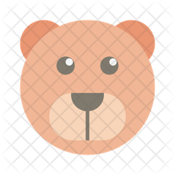 Grizzly Flat Icon