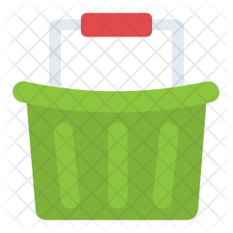 Grocery Basket Icon