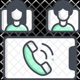 Group Audio Call Icon