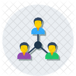 Group Members Icon Of Flat Style Available In Svg Png Eps Ai Icon Fonts