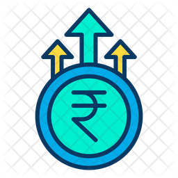 Grown rupees Icon