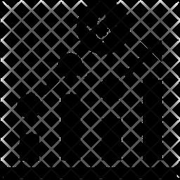 Growth Glyph Icon