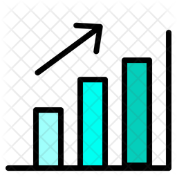 Growth Graph Icon Of Colored Outline Style Available In Svg Png Eps Ai Icon Fonts