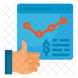 Growth Graph Icon Of Flat Style Available In Svg Png Eps Ai Icon Fonts