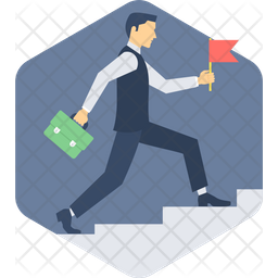 Growth Ladder Icon