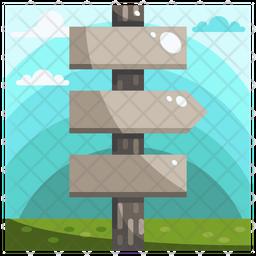 Guide post Icon