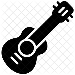 Guitar Glyph Icon