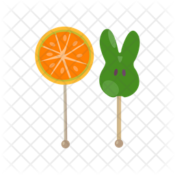 Gummy Lollipops Icon