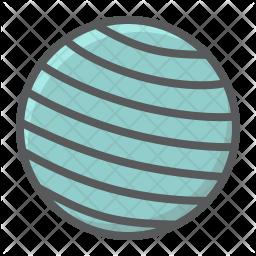 Gym ball Icon