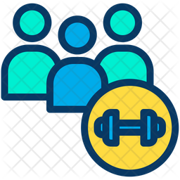 Gym Member Icon Of Colored Outline Style Available In Svg Png Eps Ai Icon Fonts