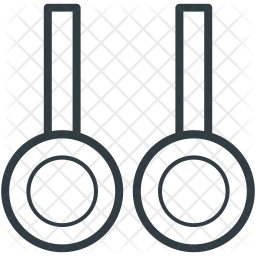 Gymnastic Line Icon