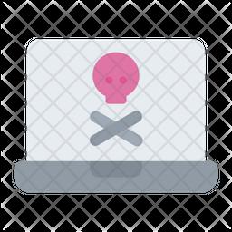 Hack Laptop Icon