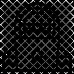 Hacker Line Icon