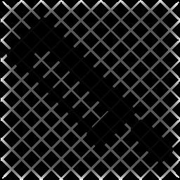 Hacksaw Glyph Icon