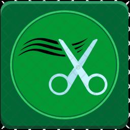 Hair cutting Icon