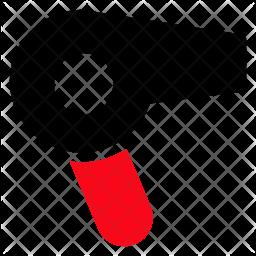 Hairdryer Glyph Icon