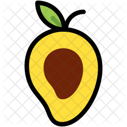 Half Mango Icon