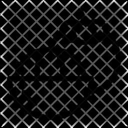 Half mangosteen Icon