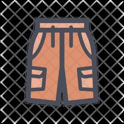 Half pant Icon