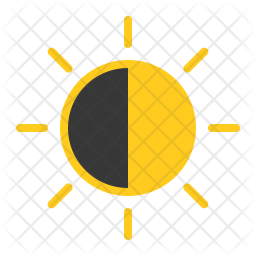 Half sun Icon