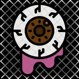Halloween Eye Icon