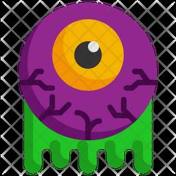 Halloween Eyeball Icon