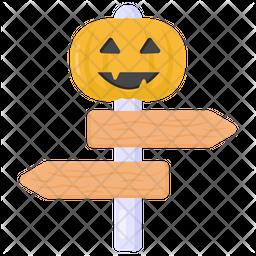 Halloween Guidepost Icon