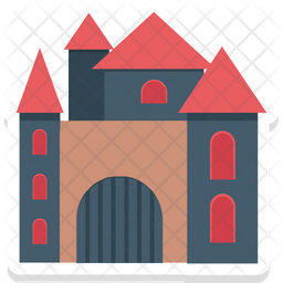 Halloween Mansion Icon