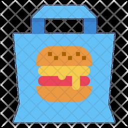 Hamburger Bag Icon