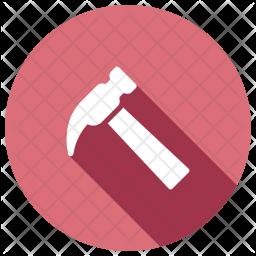 Hammer Glyph Icon