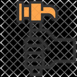 Hammer Dualtone Icon