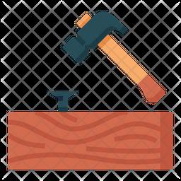 Hammering Icon