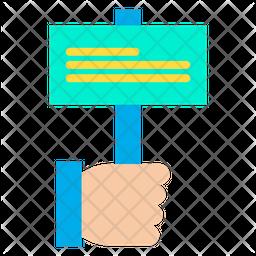 Hand Campaign Icon
