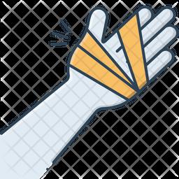 Hand Injury Icon