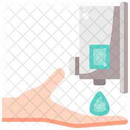Hand Soap Liquid Icon