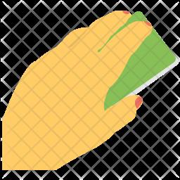 Hand Sponge Icon