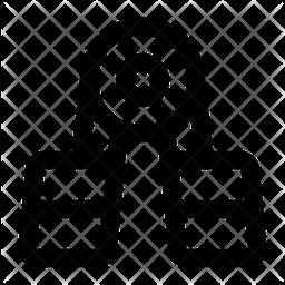 Handgrip Line Icon