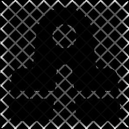 Handgrip Glyph Icon