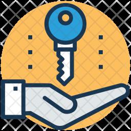 Handover Key Icon
