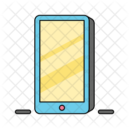 Handphone Icon Of Colored Outline Style Available In Svg Png Eps