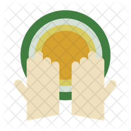 Hands Flat Icon